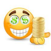 smiley dollar